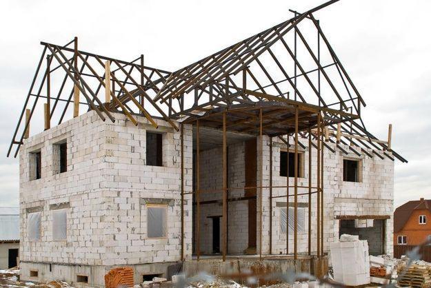 Строительство коттеджей из кирпича и